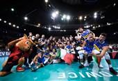 تیم ملی والیبال ایتالیا قهرمان اروپا شد/ پایان کار هینن در لهستان با مدال برنز