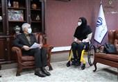 دیدار وزیر ورزش با زهرا نعمتی/ سجادی: زندگینامه ورزشکارانی همچون نعمتی باید در مدارس تدریس شود