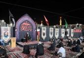 موکبداران آذربایجانی به حرم مطهر رضوی مشرف شدند+ تصاویر
