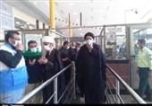 بازدید نماینده ولی فقیه در استان خوزستان از مرز چذابه+ تصاویر