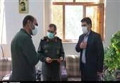 آیین تکریم و معارفه رئیس سازمان بسیج رسانه خراسان جنوبی به روایت تصویر