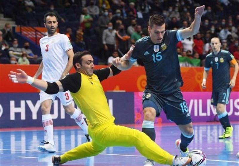 جام جهانی فوتسال| تمجید سایت فیفا از گل زیبای حسنزاده و عملکرد سنگربان ایران