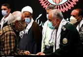 تجلیل از ایثارگران استان مرکزی همزمان با هفته دفاع مقدس به روایت تصویر
