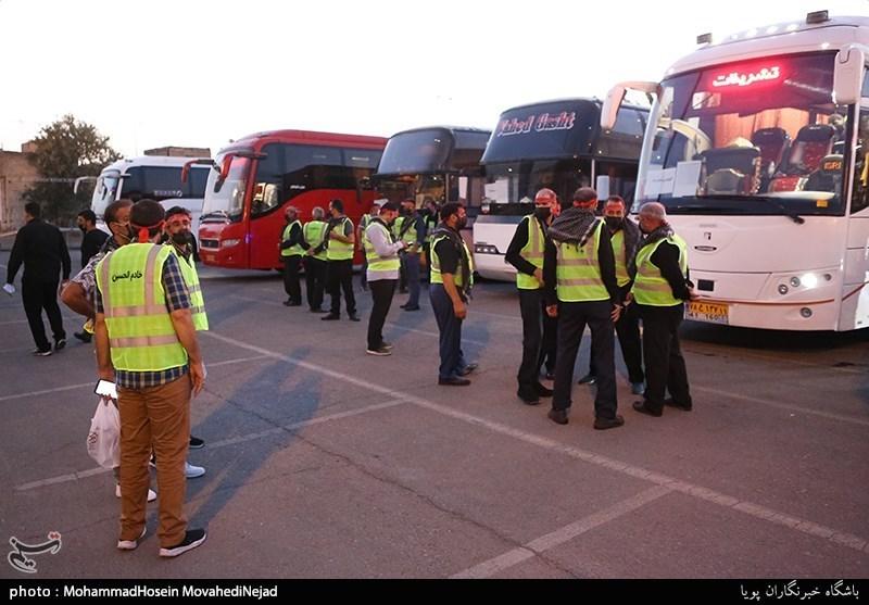 استقرار روزانه 400 اتوبوس در مرز ایران و عراق/ بازگرداندن 100 درصد وجه بلیت هوایی در صورت لغو پرواز