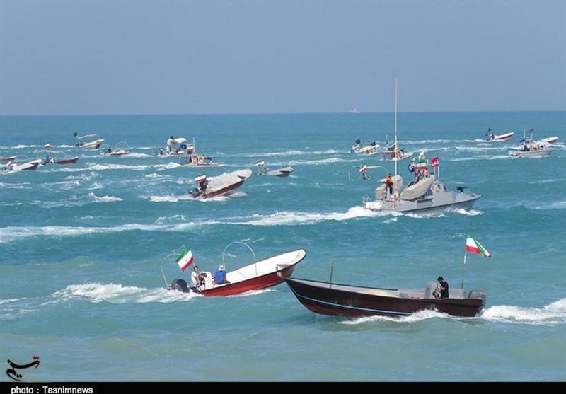 قدرتنمایی سپاه در خلیج همیشه فارس/ هشدار 650 فروند شناور رزمی ایران به دشمنان / رصد 24 ساعته تمام تحرکات