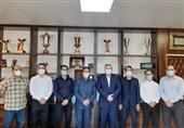 مربیان تیم ملی کاراته آقایان احکام خود را دریافت کردند