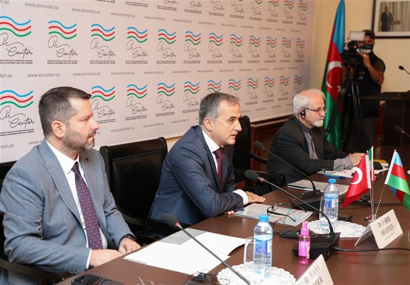 İran, Azerbaycan Cumhuriyeti ve Türkiye Araştırma Merkezleri Bakü'de Toplandı
