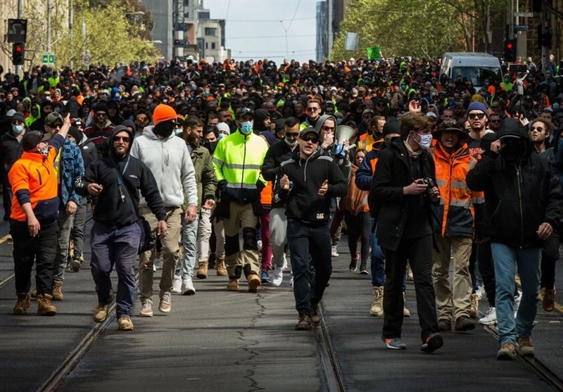 Melbourne Anti-Lockdown Protests Fizzle Out As Daily COVID-19 Cases Hit Pandemic High