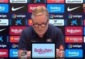 کومان بدون جواب دادن به سؤالات خبرنگاران نشست خبری را ترک کرد!/ اتمام حجت مربی هلندی با رسانهها در یک بیانیه