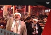 """وفد من علماء الدین الفلسطینیین یؤکد من کربلاء أن """"إسرائیل"""" إلى زوال"""