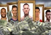 اعلام فهرست پردرآمدترین ورزشکاران جهان از سوی «فوربس»؛ مکگرگور بالاتر از رونالدو و مسی/ یک ورزشکار ایرانیالاصل در جمع 20 نفر اول