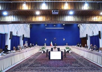 جلسه شورایعالی هماهنگی اقتصادی سران قوا بهریاست رئیسجمهور برگزار شد