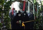 """نمایشگاه """"طریق الشهدا"""" در بهارستان افتتاح شد + تصاویر """
