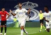 لالیگا| رئال مادرید، مایورکا را 6 تایی کرد و به صدر جدول برگشت/ هتتریک آسنسیو و دبل بنزما