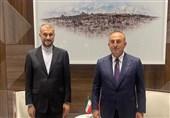 İran İle Türkiye Dışişleri Bakanları Görüştü