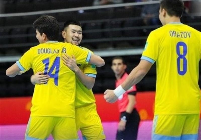 جام جهانی فوتسال| بازیکن قزاقستان: ایران تیمی سرسخت و یکی از بهترینهای جهان است