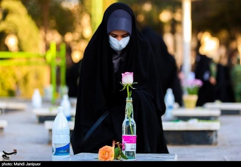 اوج شور و شیدایی عاشقان اهل بیت پیامبر در مسیر گلستان شهدای اصفهان + فیلم