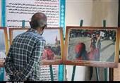 نمایشگاه عکس عاشورایی در کرمان گشایش یافت + تصاویر