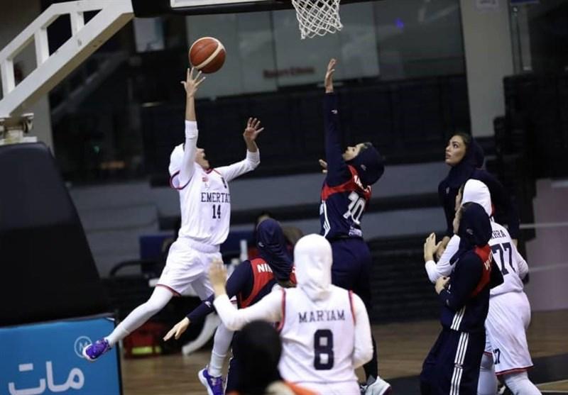 لیگ برتر بسکتبال بانوان شکست قهرمان فصل گذشته برابر شاگردان سرمربی تیم ملی