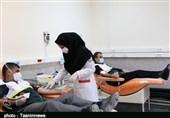 دومین مرحله اهدای خون توسط بسیج جامعه پزشکی لرستان انجام گرفت + تصاویر