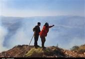 ادامه آتشسوزی شدید در درازنوی کردکوی/ بیش از 150هکتار در آتش میسوزد/ درخواست اعزام بالگرد + فیلم و تصاویر