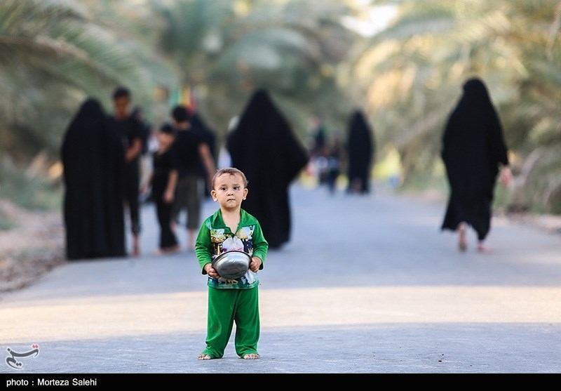 حضور کودکان در پیاده روی اربعین حسینی