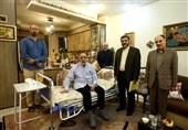 وزیر ارشادبه عیادت جمال شورجه رفت + عکس