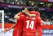 جام جهانی فوتسال| صعود شاگردان ناظمالشریعه به جمع 8 تیم پایانی با شکست ازبکستان/ ایران حریف تیم «ب» برزیل شد