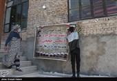 اردوی جهادی در محرومترین روستای بجنورد+تصاویر