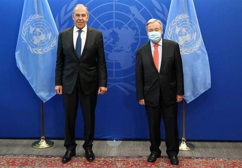 رایزنی لاوروف و گوترش درباره اوضاع افغانستان، اوکراین، سوریه و لیبی