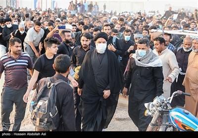 حجت الاسلام والمسلمین سید محمدنبی موسویفرد نماینده ولی فقیه در استان خوزستان