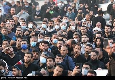 زائران اربعین حسینی در مرز شلمچه