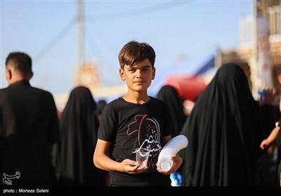 پیاده روی زائرین اربعین حسینی - مسیر نجف به کربلا