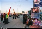 آئین جاماندگان پیادهروی اربعین حسینی در اردبیل برگزار میشود