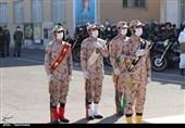 برگزاری صبحگاه مشترک نیروهای مسلح در کاشان به روایت تصویر