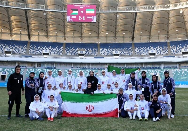 صعود تیم فوتبال بانوان ایران به جام ملتهای آسیا