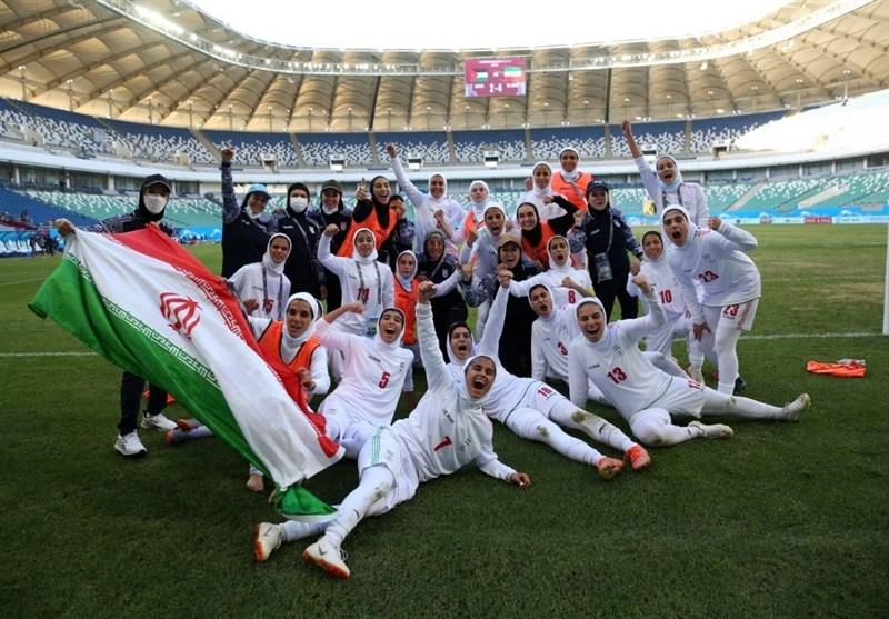 Iran's Women's Football Team Makes History