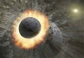 Ancient Impact Forming Earth's Moon Was Likely A One-Two Punch