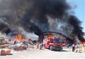 جزئیات جدید از آتشسوزی کارخانه الیاف نطنز/ بیش از 100 میلیارد ریال خسارت به واحد تولیدی تحمیل شد