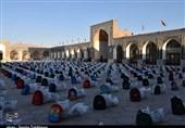 رزمایش مشترک کمکهای مؤمنانه مساجد استان کرمان برگزار شد + تصاویر