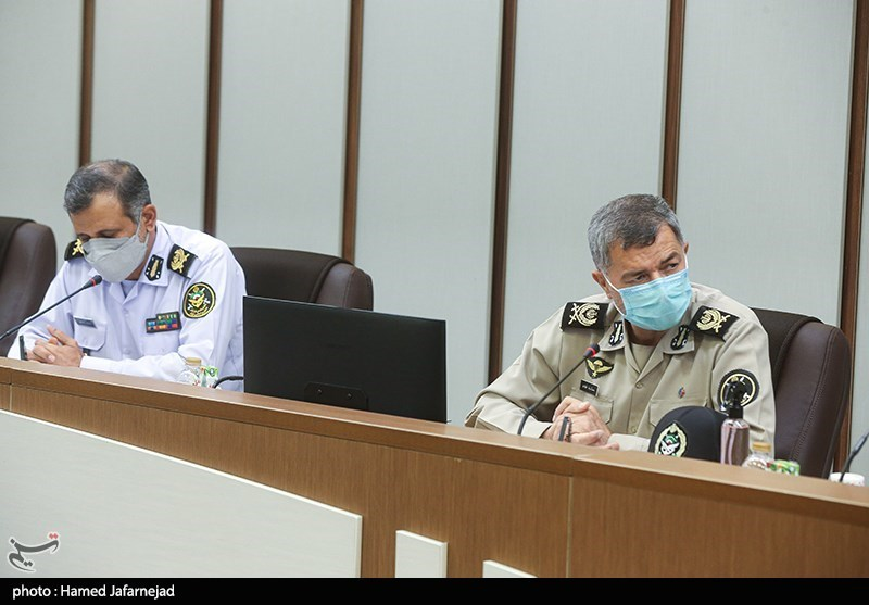 نشست بررسی زمینههای همکاریهای مشترک میان وزارت فرهنگ و ارتش جمهوری اسلامی ایران