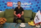 گفتوگوی تسنیم با قهرمان طلایی المپیک| گرایی: اهتزاز پرچم ایران برایم شیرین بود / با الگوگیری از سوریان و منش پهلوانی تختی کشتی میگیرم + فیلم