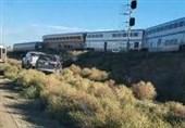 خروج قطار از ریل در ایالت مونتانای آمریکا 3 کشته برجا گذاشت