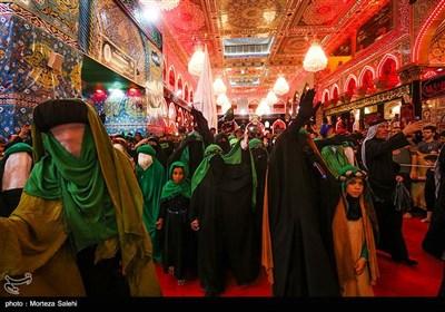 Imam Hussein's Shrine in Karbala Hosting Arbaeen Pilgrims