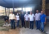 قدردانی اهالی «جبل» از ایران و سید حسن نصرالله برای سوخترسانی به لبنان