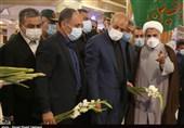 ادای احترام وزیر کشور به مقام شامخ شهدا بوشهر به روایت تصویر