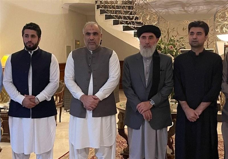دیدار «حکمتیار» با رئیس پارلمان پاکستان