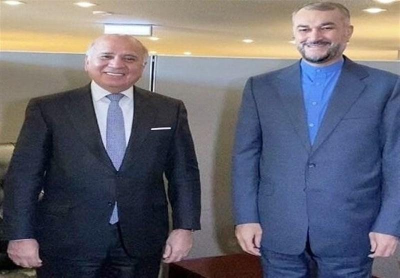 İran İle Irak Dışişleri Bakanları İkili Münasebetleri Ele Aldılar