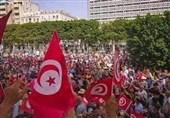 زورآزمایی خیابانی مخالفان و موافقان رئیس جمهور تونس