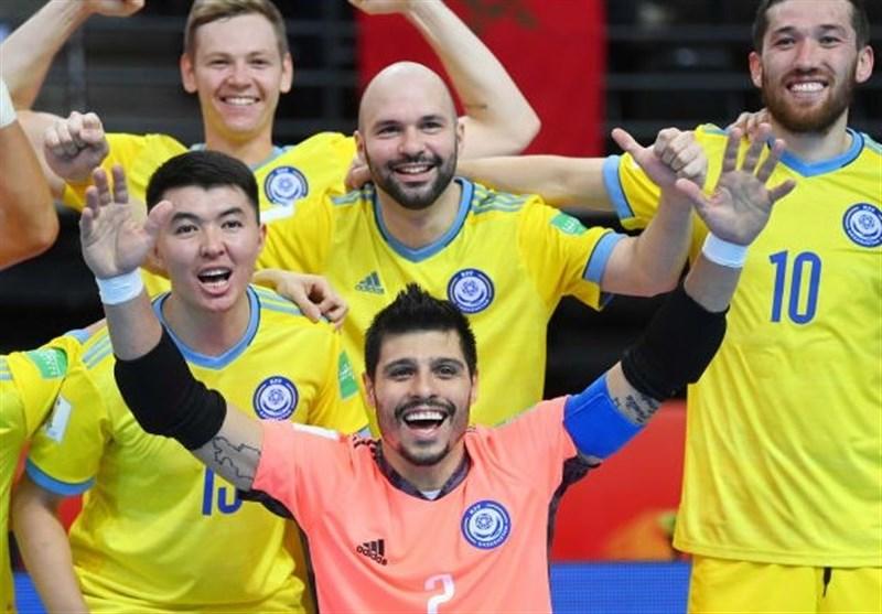 جام جهانی فوتسال  آشنایی با قزاقستان؛ رقیب ایران در یک چهارم نهایی/ تاریخسازی دیگر با شکست برزیلی دیگر؟